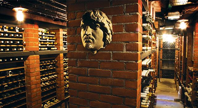 Restaurant Patrick Guilbaud - The Cellar