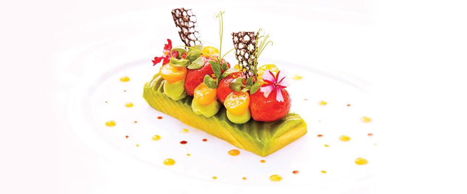 Restaurant Patrick Guilbaud Food Plate