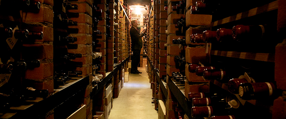 Restaurant Patrick Guilbaud Wine Cellar 2
